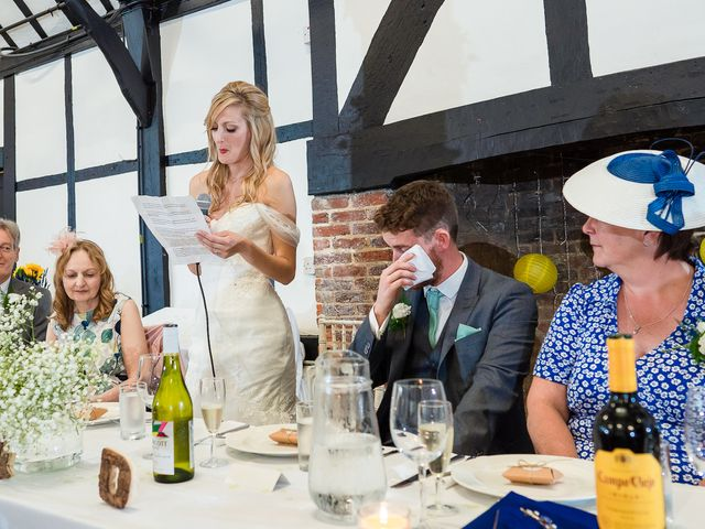 Daniel and Louise's Wedding in Chilham, Kent 60