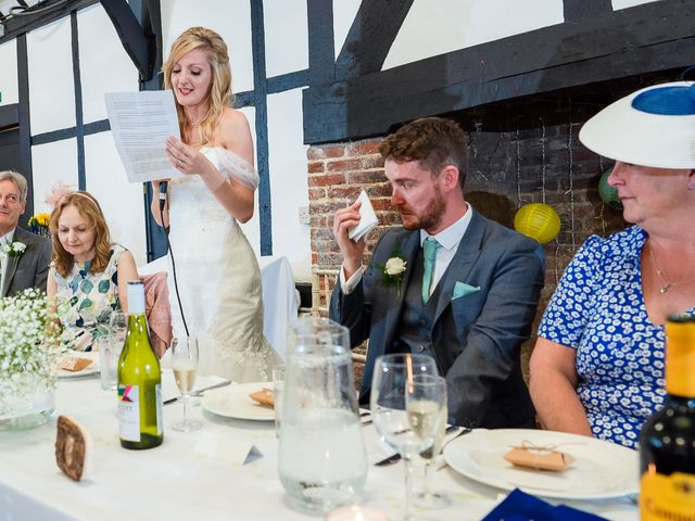 Daniel and Louise's Wedding in Chilham, Kent 63