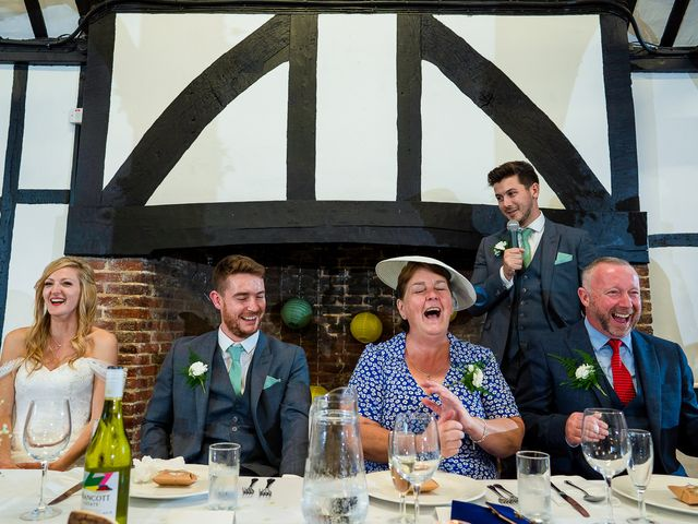 Daniel and Louise's Wedding in Chilham, Kent 64