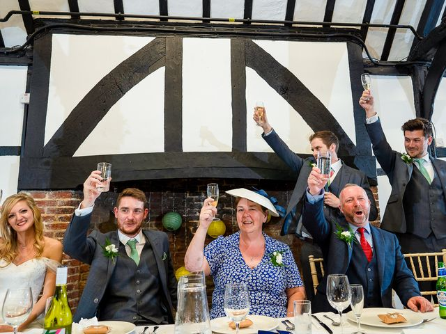 Daniel and Louise's Wedding in Chilham, Kent 65