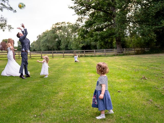 Daniel and Louise's Wedding in Chilham, Kent 67