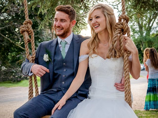 Daniel and Louise's Wedding in Chilham, Kent 71