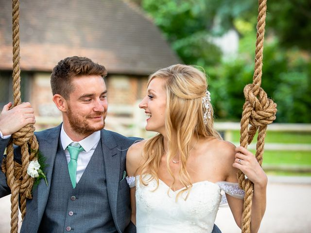 Daniel and Louise's Wedding in Chilham, Kent 73