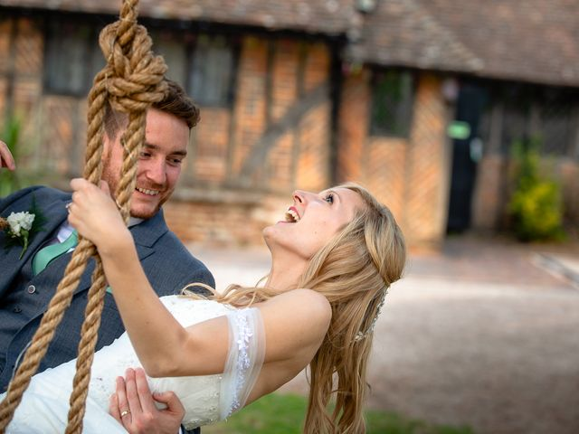 Daniel and Louise's Wedding in Chilham, Kent 74