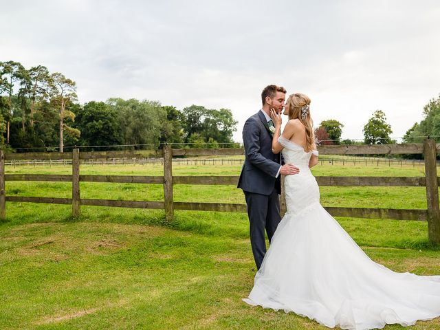 Daniel and Louise's Wedding in Chilham, Kent 76