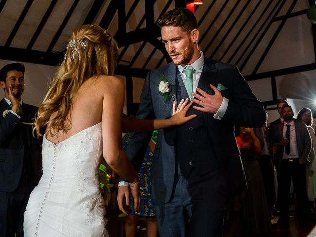 Daniel and Louise's Wedding in Chilham, Kent 81