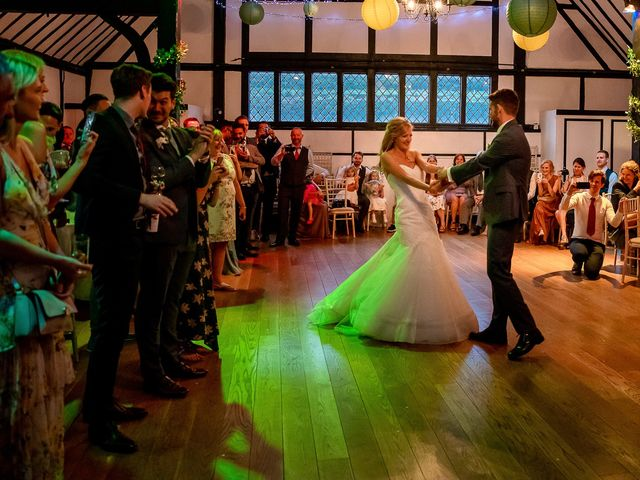 Daniel and Louise's Wedding in Chilham, Kent 90