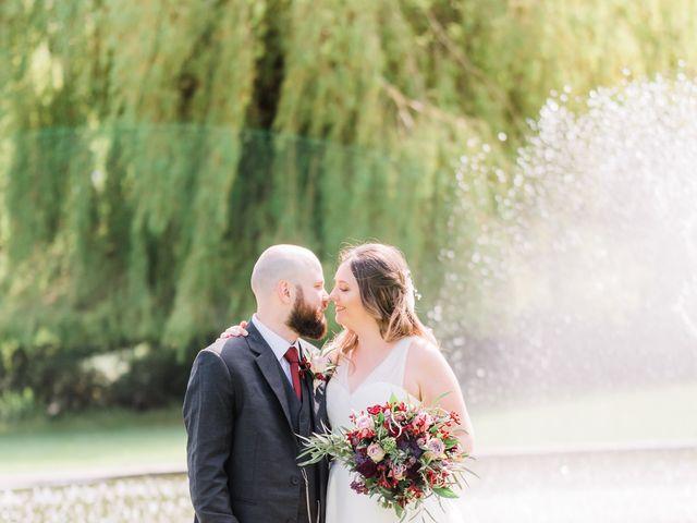 Lucas and Amelia's Wedding in Billesley, West Midlands 15