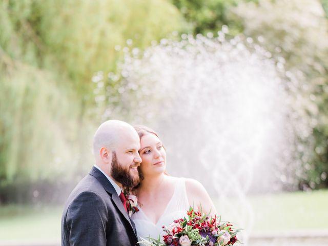 Lucas and Amelia's Wedding in Billesley, West Midlands 16