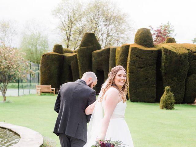 Lucas and Amelia's Wedding in Billesley, West Midlands 19