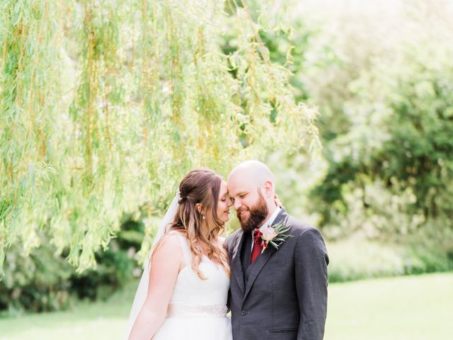 Lucas and Amelia's Wedding in Billesley, West Midlands 21