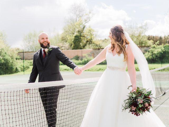 Lucas and Amelia's Wedding in Billesley, West Midlands 23