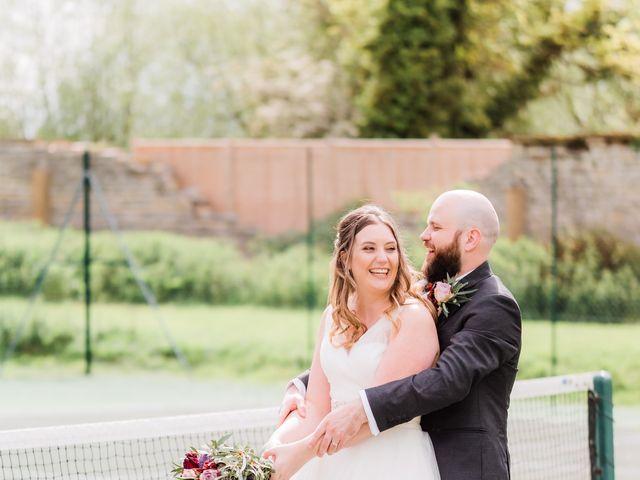 Lucas and Amelia's Wedding in Billesley, West Midlands 25
