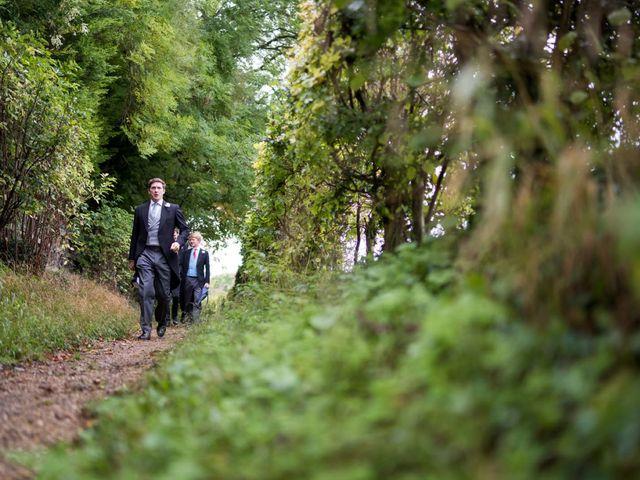 Edward and Rachel's Wedding in Woodstock, Oxfordshire 13