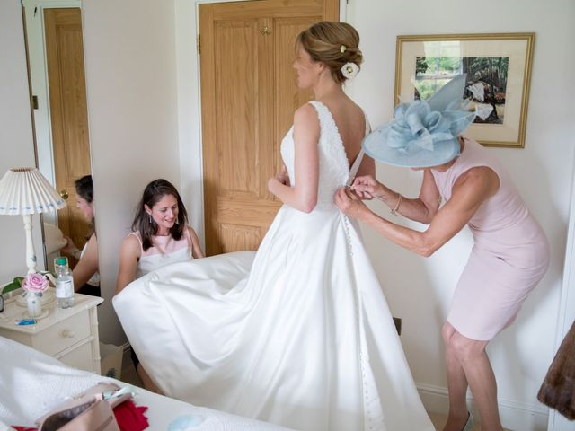 Edward and Rachel's Wedding in Woodstock, Oxfordshire 16