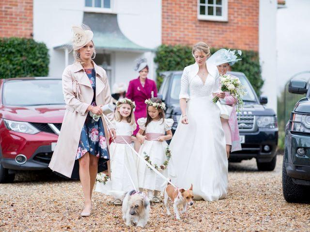 Edward and Rachel's Wedding in Woodstock, Oxfordshire 25