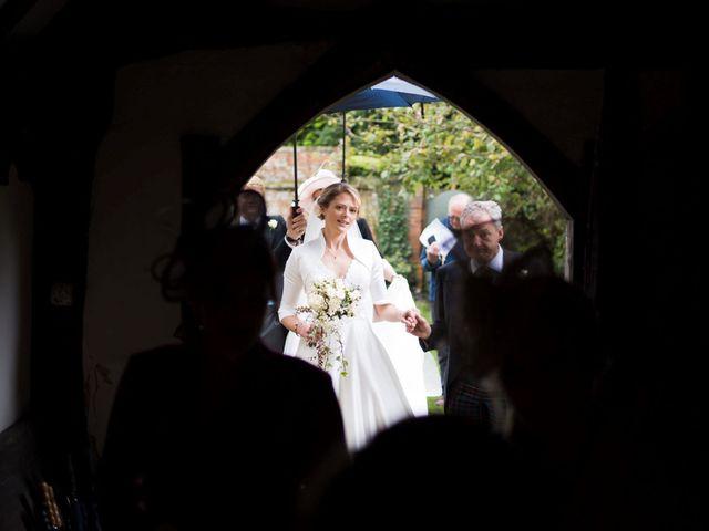 Edward and Rachel's Wedding in Woodstock, Oxfordshire 32