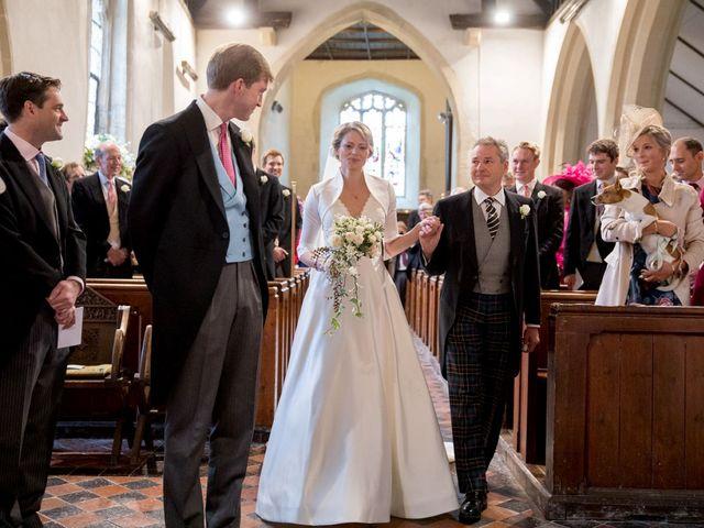 Edward and Rachel's Wedding in Woodstock, Oxfordshire 40