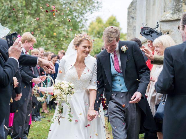Edward and Rachel's Wedding in Woodstock, Oxfordshire 72