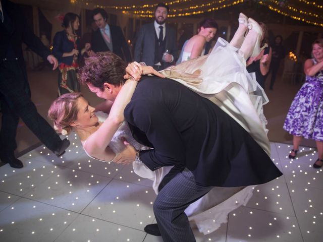 Edward and Rachel's Wedding in Woodstock, Oxfordshire 106