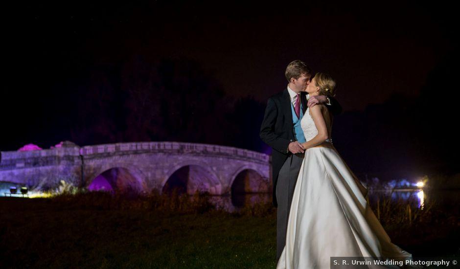 Edward and Rachel's Wedding in Woodstock, Oxfordshire