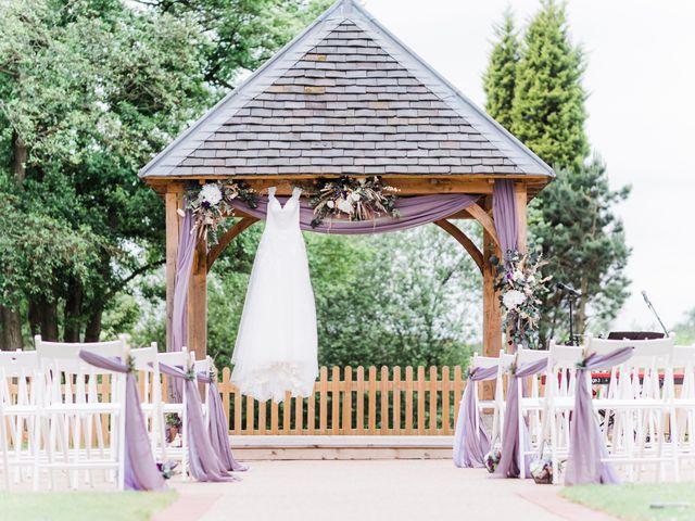 David and Rebekah's Wedding in Hanbury, Worcestershire 2