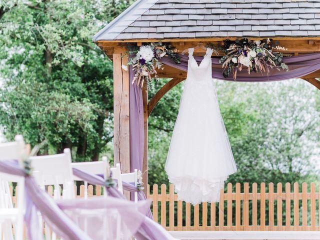 David and Rebekah's Wedding in Hanbury, Worcestershire 10