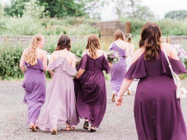 David and Rebekah's Wedding in Hanbury, Worcestershire 14