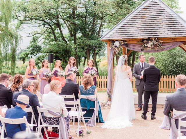 David and Rebekah's Wedding in Hanbury, Worcestershire 19