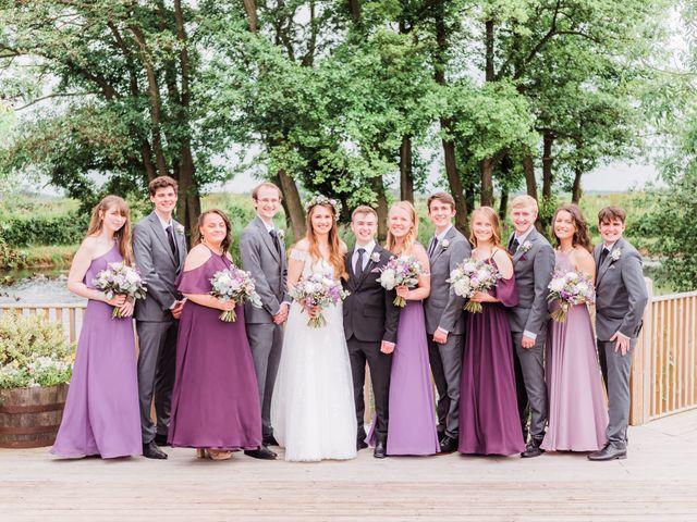 David and Rebekah's Wedding in Hanbury, Worcestershire 21
