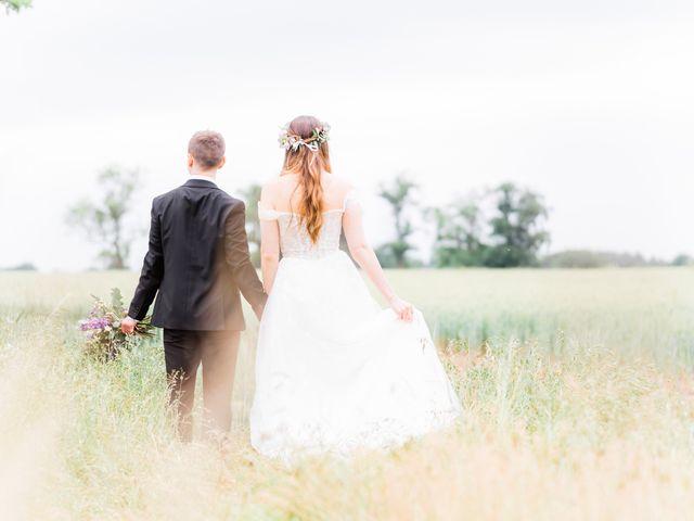 David and Rebekah's Wedding in Hanbury, Worcestershire 23