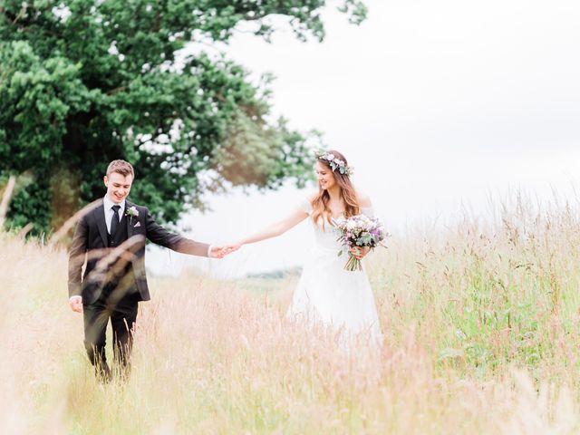 David and Rebekah's Wedding in Hanbury, Worcestershire 24