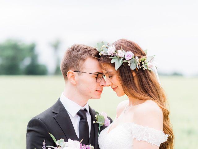 David and Rebekah's Wedding in Hanbury, Worcestershire 27