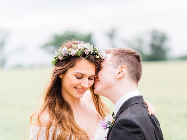 David and Rebekah's Wedding in Hanbury, Worcestershire 31