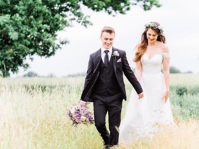 David and Rebekah's Wedding in Hanbury, Worcestershire 32