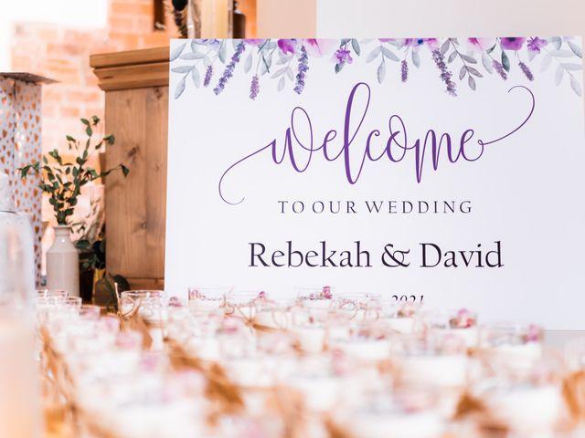 David and Rebekah's Wedding in Hanbury, Worcestershire 33