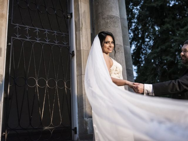 Sawita and Ross's Wedding in Leamington Spa, Warwickshire 6