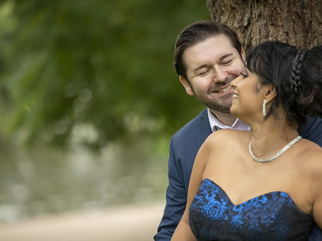 Sawita and Ross's Wedding in Leamington Spa, Warwickshire 9