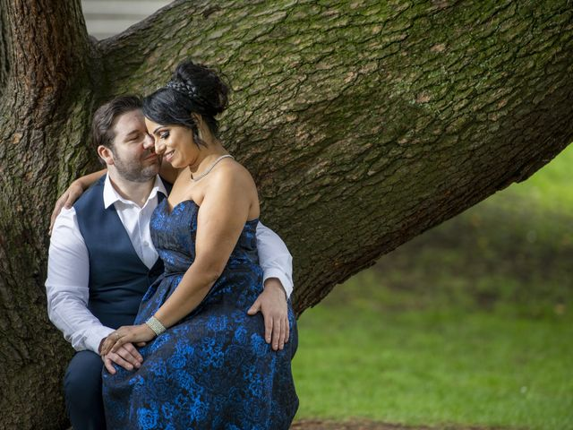 Sawita and Ross's Wedding in Leamington Spa, Warwickshire 14
