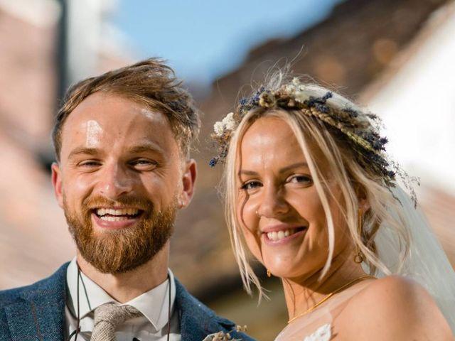 Becky & Rupert's wedding
