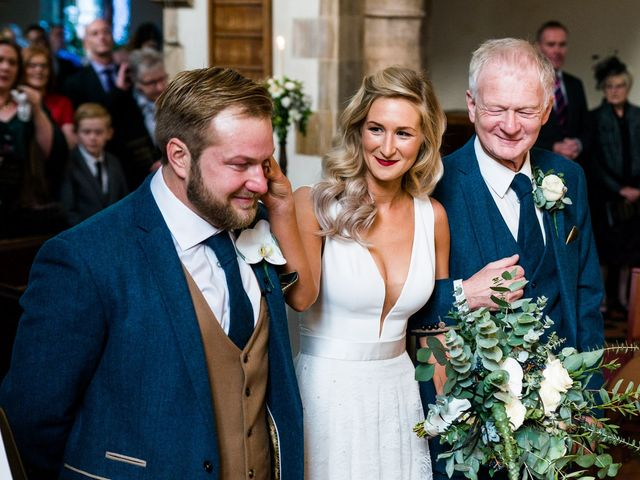 Dan and Jennie's Wedding in Nottingham, Nottinghamshire 30