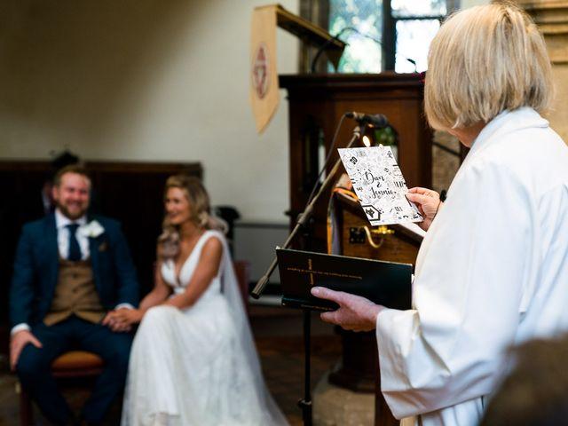 Dan and Jennie's Wedding in Nottingham, Nottinghamshire 32