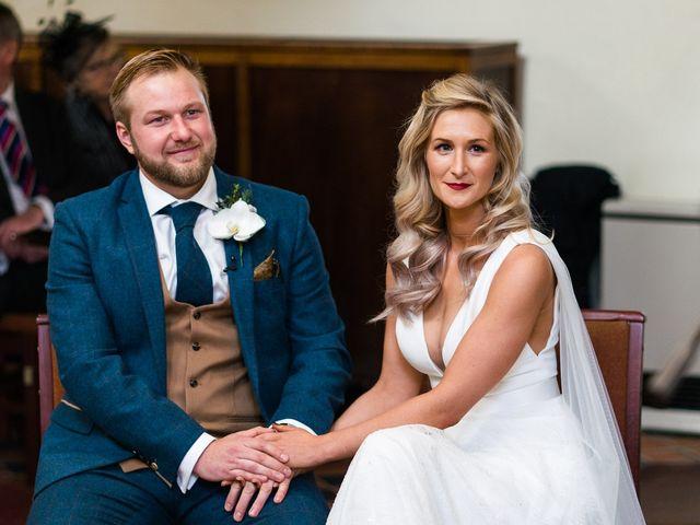 Dan and Jennie's Wedding in Nottingham, Nottinghamshire 33