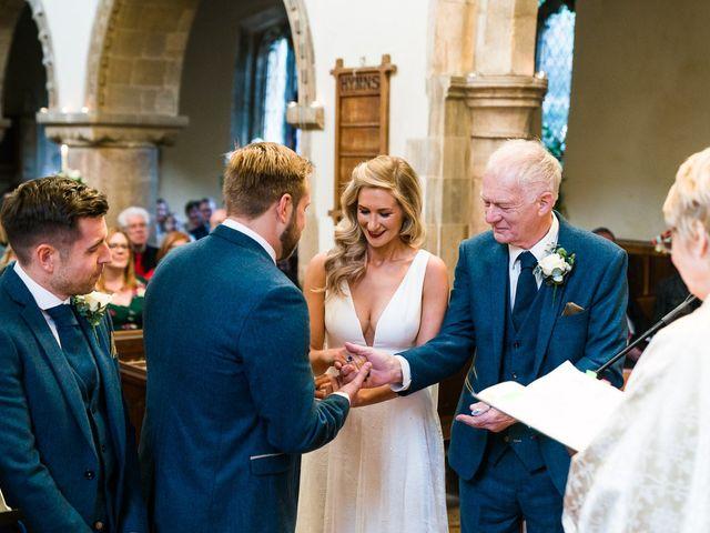 Dan and Jennie's Wedding in Nottingham, Nottinghamshire 34
