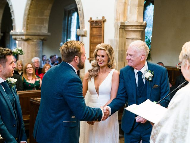 Dan and Jennie's Wedding in Nottingham, Nottinghamshire 35