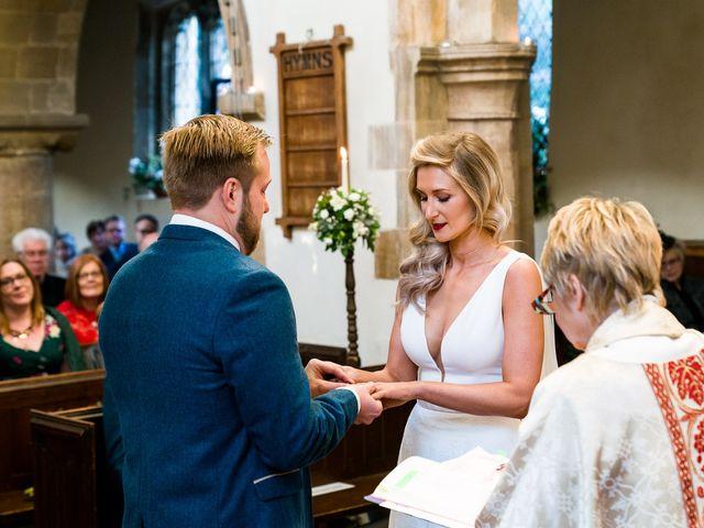Dan and Jennie's Wedding in Nottingham, Nottinghamshire 36