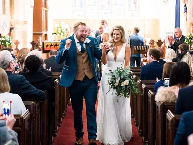 Dan and Jennie's Wedding in Nottingham, Nottinghamshire 38