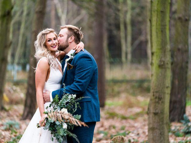 Dan and Jennie's Wedding in Nottingham, Nottinghamshire 41