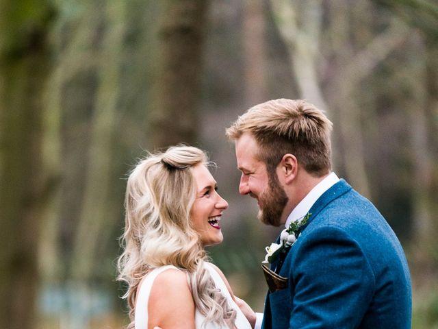 Dan and Jennie's Wedding in Nottingham, Nottinghamshire 42