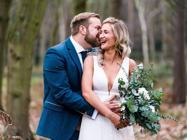 Dan and Jennie's Wedding in Nottingham, Nottinghamshire 1